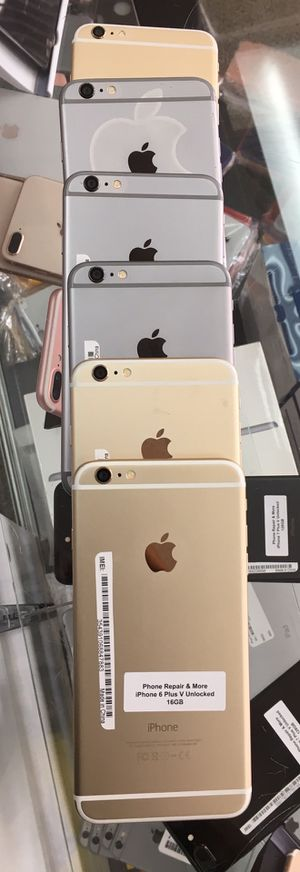 iPhone 6 Plus (16GB , 64GB , 128GB ) Factory Unlocked | 30 Days warranty | All colors Available for Sale in Zephyrhills, FL