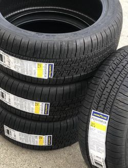225/45/18 GOODYEAR EAGLE RS-A Set Of 4 Llantas Nuevas New Tires Price includes installation and balance for Sale in Compton,  CA