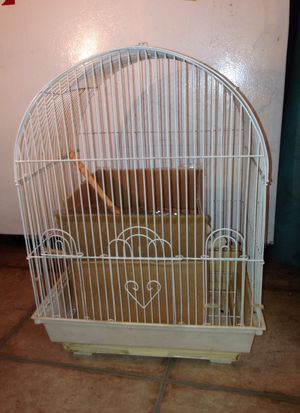 Bird cage with full box of supplies! for Sale in Belmont, MA