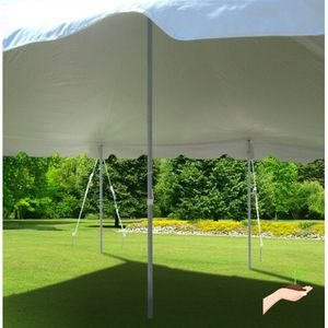 Party tent pole & rope 20x20 for Sale in Gaithersburg, MD