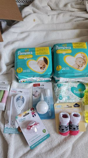 Pampers Diapers Wipes & More for Sale in Stuart, FL