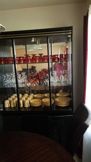 Lighted China Cabinet for Sale in North Chesterfield, VA