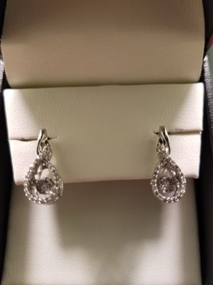 Item #1750819 1/3 ct. tw. Lovebeat Diamond Drop Earrings Ticket Price:$525.00  Sale Price :$349.00 Willing to sell for $300.00 never worn for Sale in Harrisburg, PA