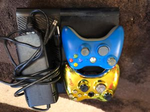 Xbox 360 with two controllers for Sale in East Providence, RI