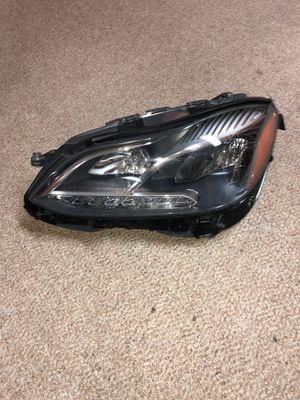 Mercedes E350 MATiC 2014-2016 headlight OEM left for Sale in Chevy Chase, MD