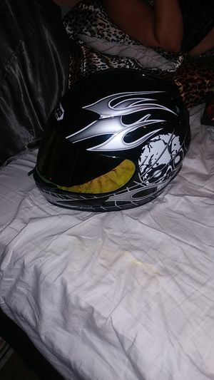Motorcycle helmet size extra large wow for Sale in Lancaster, PA
