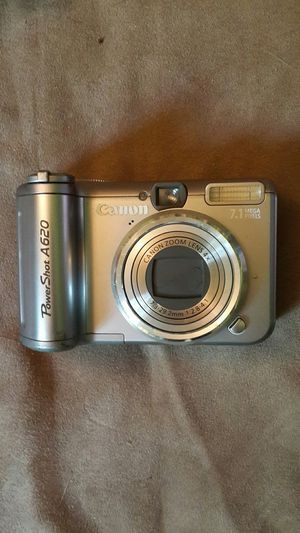 Canon A620 digital cam w/underwater housing for Sale in Denver, PA