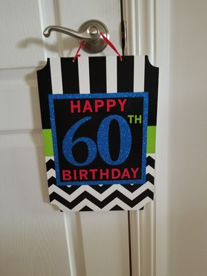 60th birthday decorations for Sale in Elizabethtown, PA