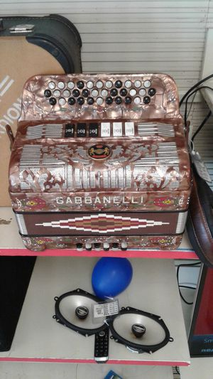 Gabbanelli accordion for Sale in San Juan, TX