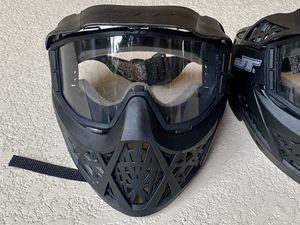 Paintball face mask protection 4 masks for Sale in West Palm Beach, FL