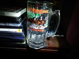 A Budweiser Clydesdale beer mug for Sale in Ada, OK