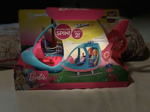 NWB Barbie Helicopter for Sale in Springfield, OR