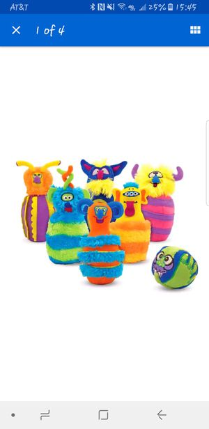 Kids Toy Plush Monster Bowling for Sale in Las Vegas, NV