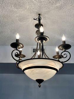 Beautiful 6 Lights Chandelier for Sale in Miami,  FL