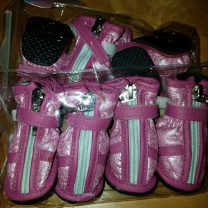 PINK DOGGY BOOTIES for Sale in Snohomish, WA