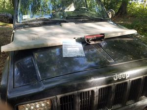 1996 jeep cherokee trunk plastics, light and bolts for Sale in South Kingstown, RI