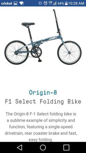 BMX ORIGIN 8 F1 FOLDING BIKE for Sale in Portland, OR