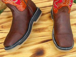 STEEL TOE WORK BOOTS $79 for Sale in San Antonio, TX