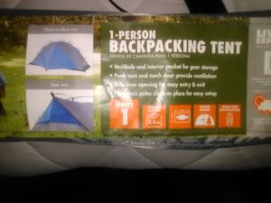 1 person hiking tent for Sale in Amarillo, TX
