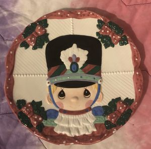 Precious moments nutcracker plate for Sale in Riverside, CA