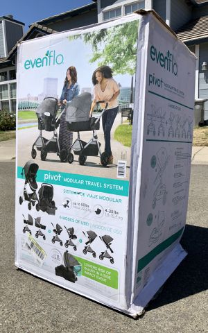 Evenflo Pivot Stroller Modular Travel System with ProSeries LiteMax Infant Car Seat NEW for Sale in Elk Grove, CA