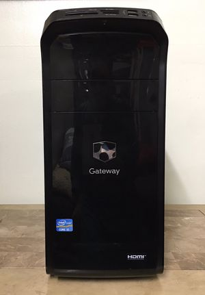 Gateway Core i5 Corei5 8GB RAM 1TB HDD WiFi Office HDMI Windows 10 dual display desktop computer for Sale in Pembroke Pines, FL