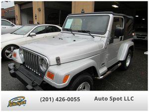 2005 Jeep Wrangler for Sale in Garfield, NJ