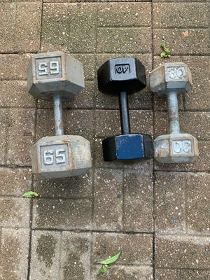 Dumbbell weight for Sale in Elmwood Park, IL