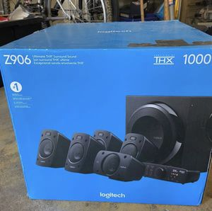 Logitech home theatre system *never opened* (Surround sound speaker system) for Sale in Gilroy, CA