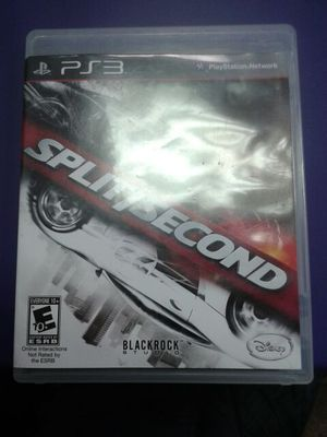 Split second racing game on ps3 for Sale in Redford Charter Township, MI