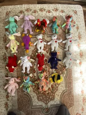 Lot of rare Beanie Babies for Sale in Lowell, MA