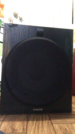 Sony home theater subwoofer for Sale in Denver, CO
