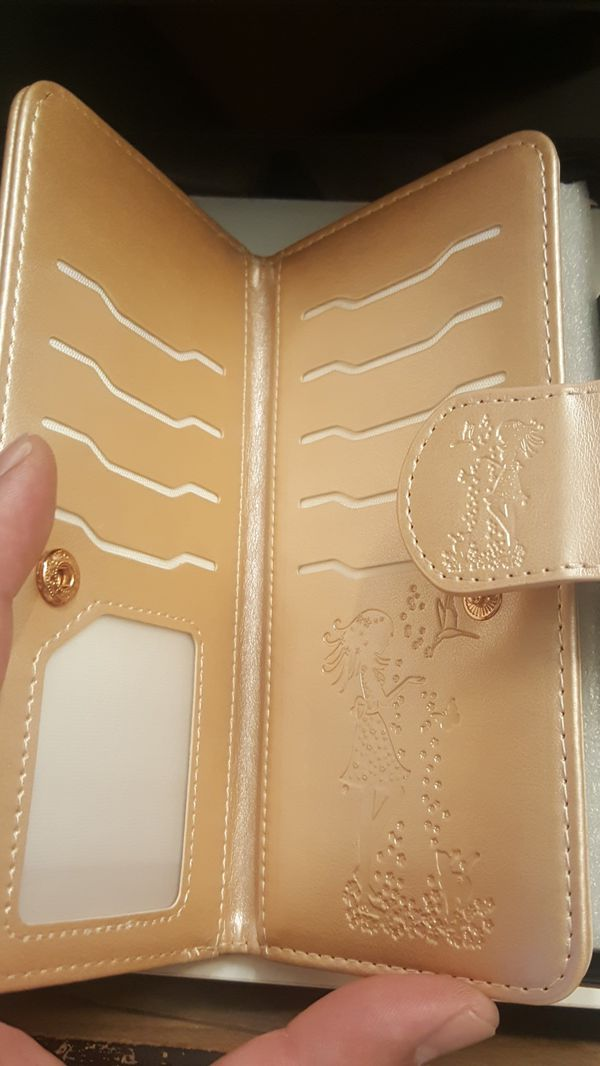 """wallet case for iphone xs max 6.5"""" goldrose new 12firm now ship out of the town"""