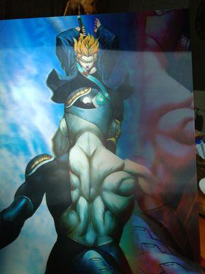 Trunks vs freeza dragon ball z 3d poster for Sale in Fontana, CA