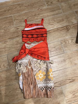 Moana Costume - like new for Sale in Matawan, NJ