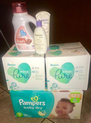 Pampers Baby Bundle $50 for Sale in Phoenix, AZ