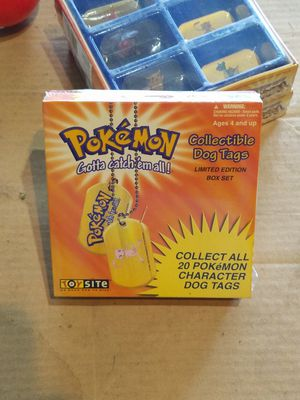 Pokemon dog tags for Sale in Selma, CA