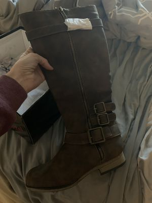 Brown boots size 6 for Sale in Henderson, NV