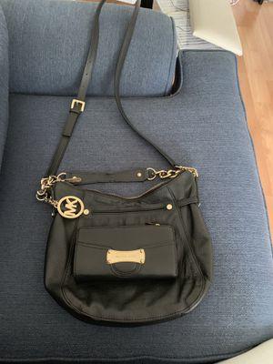 Michael Kors leather bag & wallet for Sale in Centreville, VA