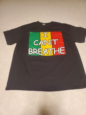 T-SHIRT I Can't Breathe/Blacks Live Matter Two Sided 100% Cotton for Sale in Ashburn, VA
