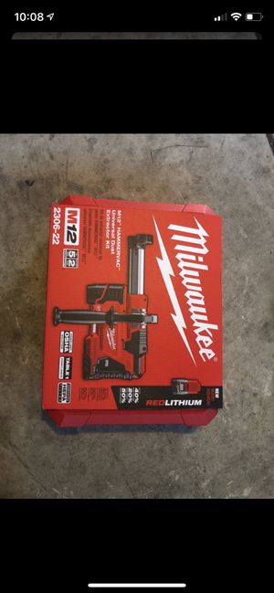 Milwaukee M12 SDS PLUS Rotary Hammer Vacuum with battery and charger for Sale in San Jose, CA