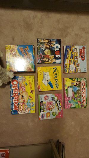 Multiple Boardgames + Glow in the Dark Space Puzzle for Sale in Smyrna, GA