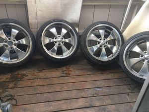 RIMS NO LUGS 350$ sold as is/ no trades for Sale in Fresno, CA