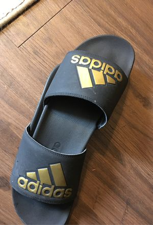 Adidas slides size 11 for Sale in Houston, TX