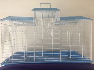 Med/ large bird cage almost new! for Sale in Everett, WA