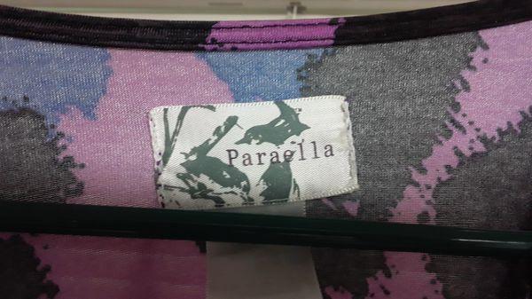 Womens paraella dress, has pockets.