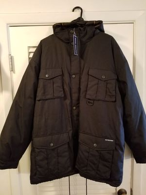 Brand New Black cold weather Parka w/hood for Sale in Clearwater, FL