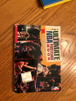 The Ultimate NBA Postcard Book for Sale in Colleyville, TX