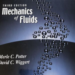 Mechanics of Fluids (Third Edition) - Potter and Wiggert for Sale in Culver City, CA