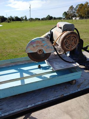 Wet Saw for Sale in Bartow, FL